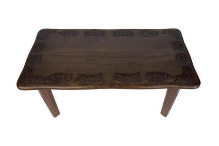 ローテーブル 長方形 桜